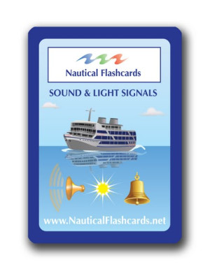 Nautical Flashcards Sound, Light Set