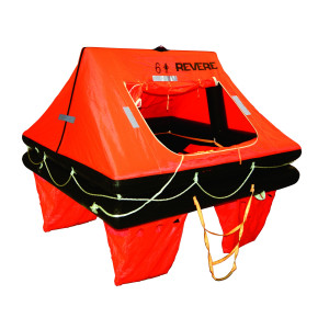Revere Offshore Commander Life Raft