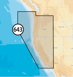 Navionics Platinum+ XL - California & Oregon