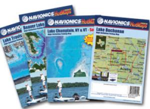 Navionics Paper HotMaps Lake Wallenpaupack, PA