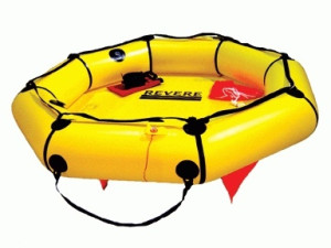 Revere Life Raft 6 Coastal COMPact Valise