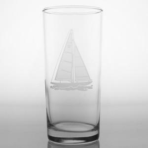 Rolf Glass Sailboat Cooler 15oz