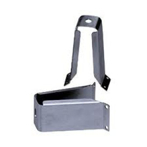 Stainless steel mast mounting bracket