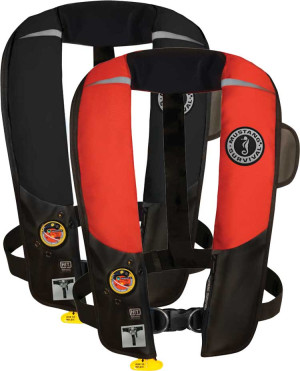 Mustang Hydrostatic Inflatable Automatic PFD w/ Harness