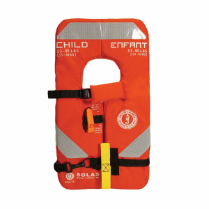 Mustang Type 1 PFD Child YOKE SOLAS