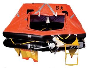 Survitec OceanMaster Life Raft - Round Container
