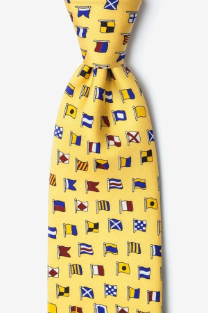 Alynn Neck Tie A-Z International Flags