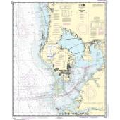 NOAA Nautical Chart - 11412 Tampa Bay and St. Joseph Sound