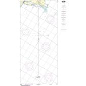 NOAA Nautical Chart - 5161 Newport, Rhode Island to Bermuda (Plotting Sheet)