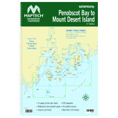 Maptech Waterproof Chartbooks Penobscot Bay to Mount Desert Island