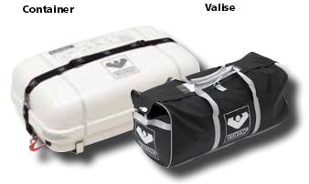 Viking Hard Canister or Soft Valise
